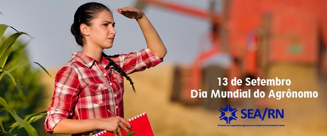 13 de Setembro Dia Mundial do Agrônomo
