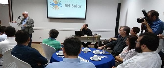 Crea-RN participa lançamento do projeto RN Solar