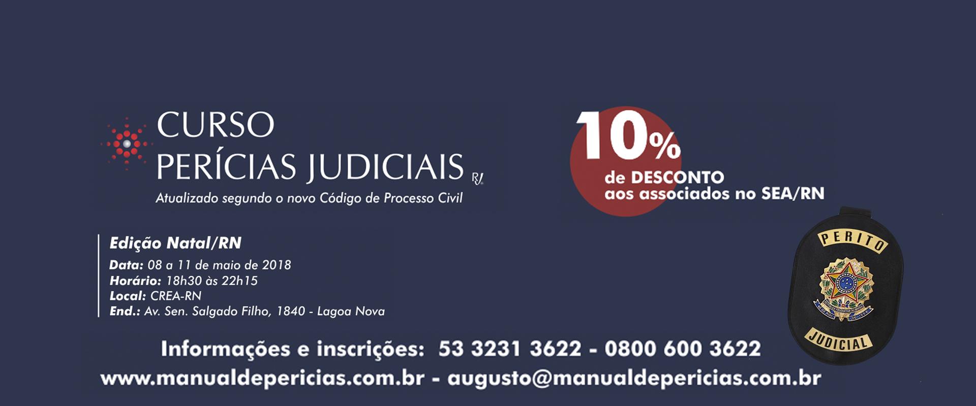 CURSO DE PERÍCIAS JUDICIAIS