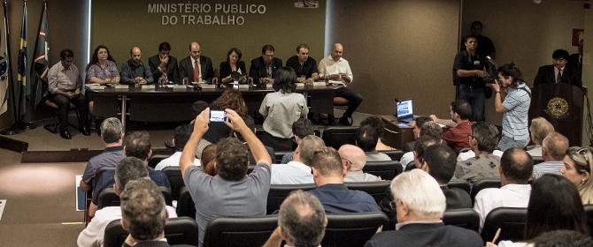 MPT e sindicatos lançam FÓRUM DE LIBERDADE SINDICAL DO PARANÁ