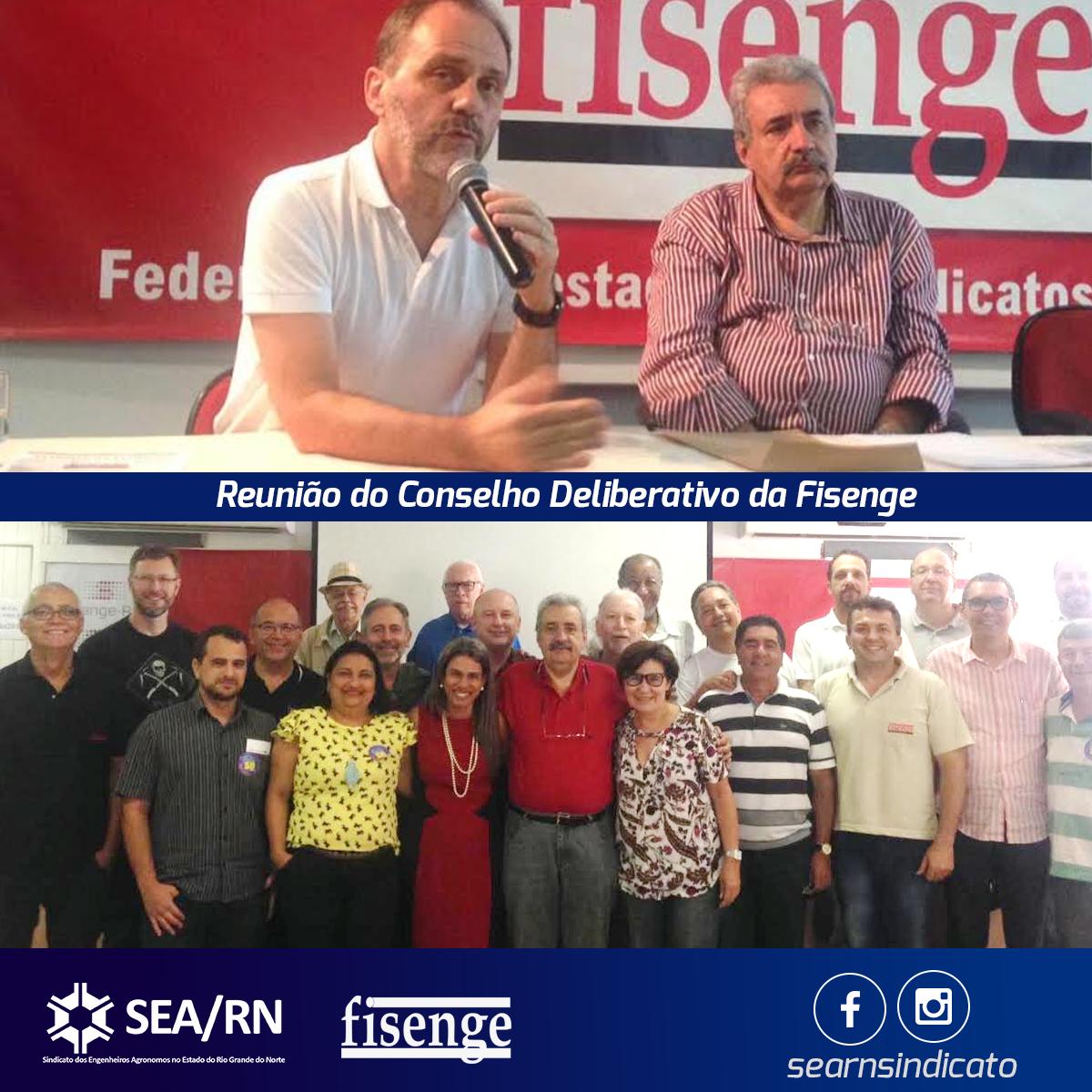 Participação do SEARN na reunião do Conselho Deliberativo da Fisenge!
