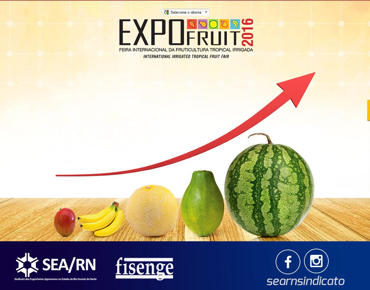 SEA-RN lança caderno da Fisenge dos 50 anos de Salário Mínimo Profissional em feira internacional de fruticultura