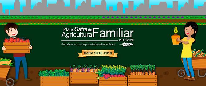 Sead traz mais recursos, juros menores e inovações para agricultura familiar na Safra 2018-2019